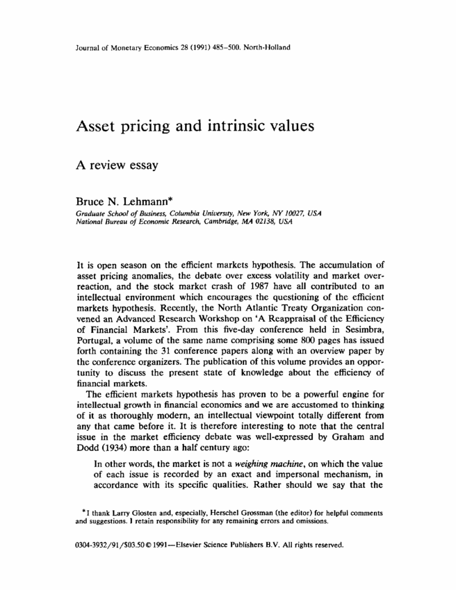 essay on moral values