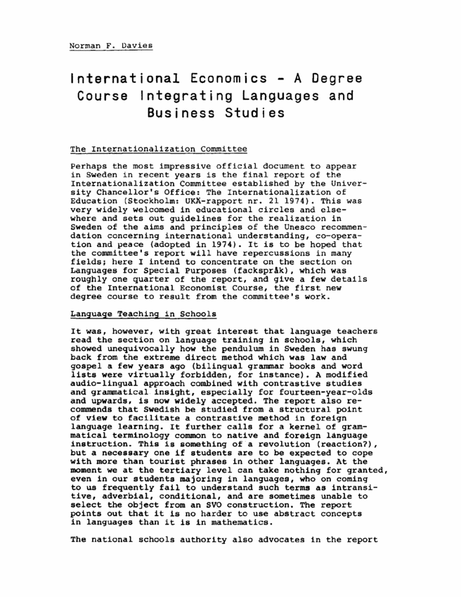 INTERNATIONAL ECONOMICS ARTICLES PDF DOWNLOAD
