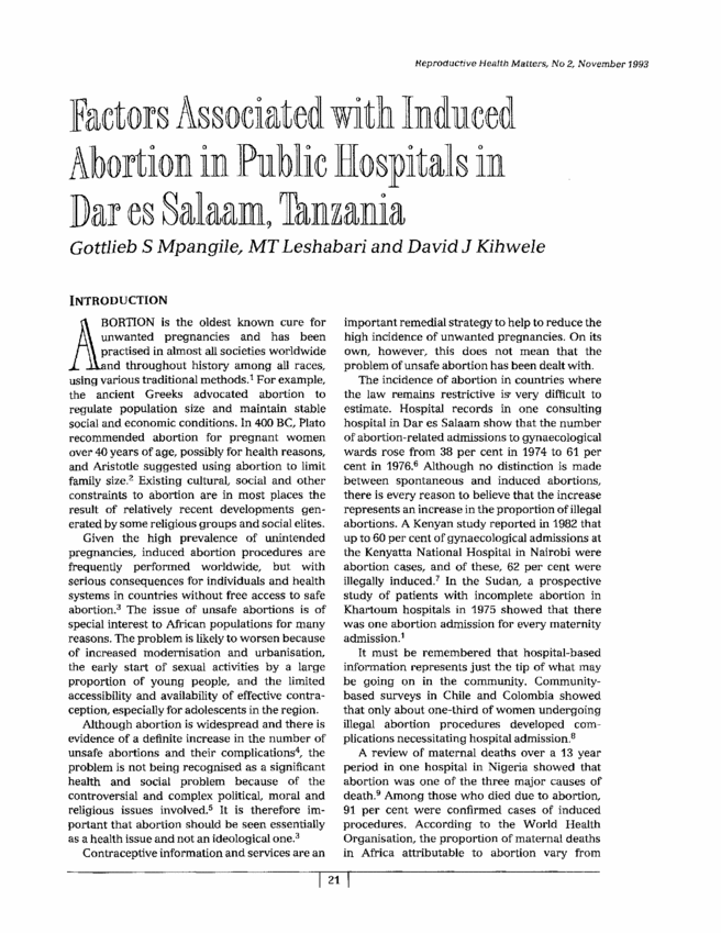 What are some social and economical factors regarding abortion?
