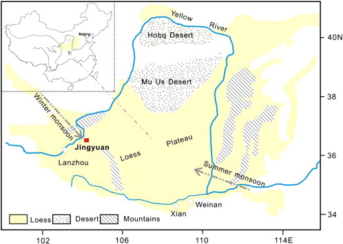 Loess Plateau Map