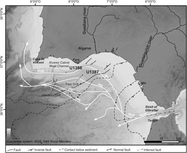 Origin Of The Large Pliocene And Pleistocene Debris Flows On The - Epoc maps illustrating us history