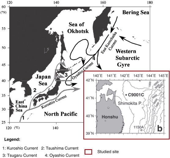 Paleoceanographic History Of The Northwest Pacific Ocean Over The - Epoc maps illistrating us history