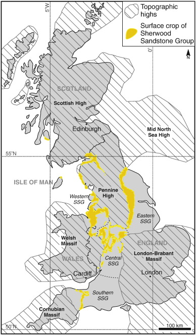 Architectural analysis of a Triassic fluvial system The Sherwood