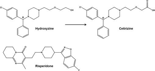Cytochrome hydroxyzine p450