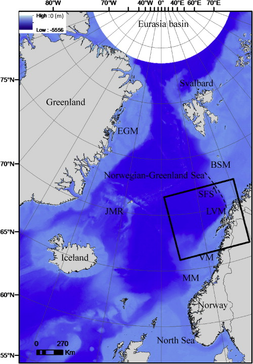 Rift Architecture Of The LofotenVesterålen Margin Offshore - Vesteralen norway map