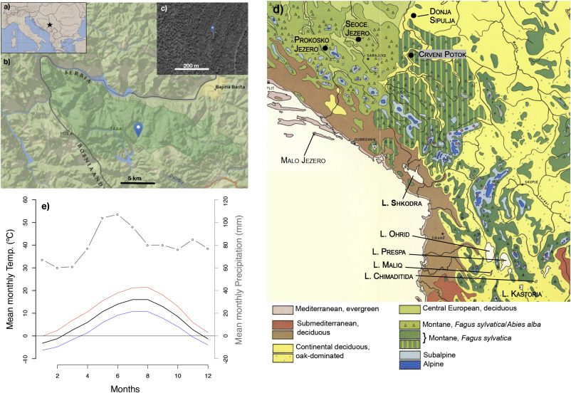 Holocene Vegetation And Fire Dynamics At Crveni Potok A Small - Epoc maps illistrating us history