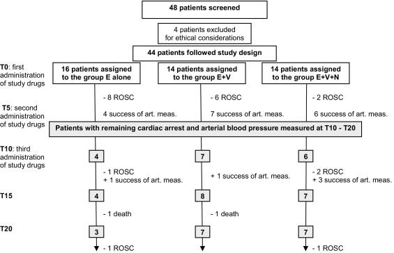 Nitroglycerin Plus Vasopressin