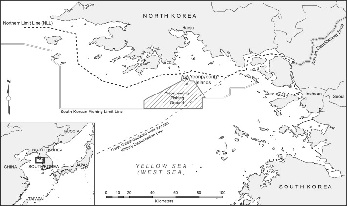 Pawns Pirates Or Peacemakers Fishing Boats In The InterKorean - Us government map nll