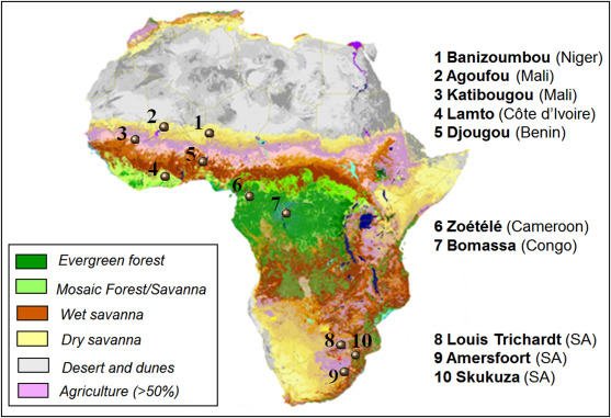 A Global Assessment Of Precipitation Chemistry And Deposition Of - Acid depositon us map
