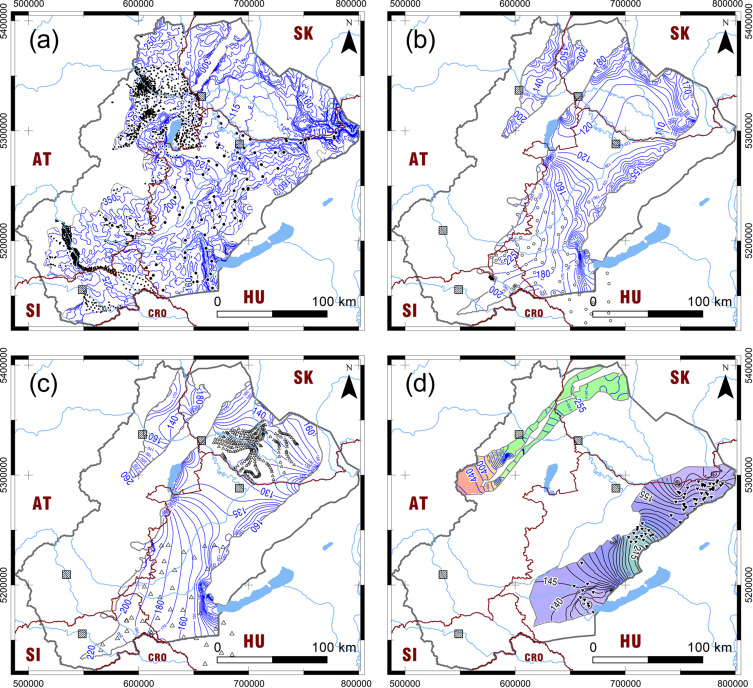 Transboundary Fresh And Thermal Groundwater Flows In The West Part - Groundwater prospect map of egypt's qena valley