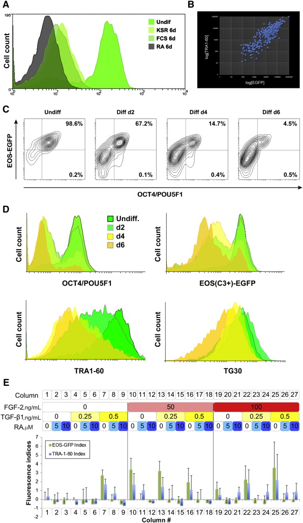 Utility of the EOS(C3+)-EiP reporter lines for assessment of the pluripotency