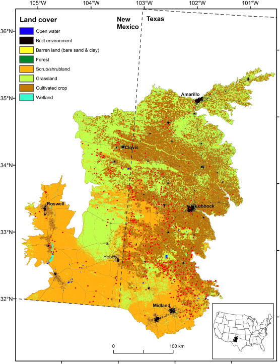 Geomorphic and land cover characteristics of aeolian dust sources