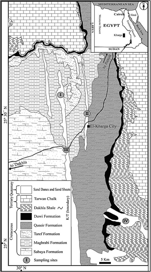 Integrated Geophysical Application To Investigate Groundwater - Groundwater prospect map of egypt's qena valley