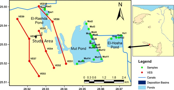 Delineating Groundwater Aquifer And Subsurface Structures By Using - Groundwater prospect map of egypt's qena valley