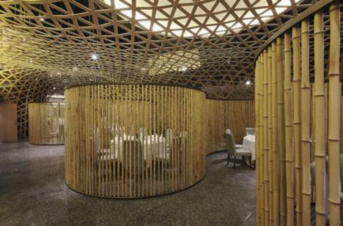 Bamboo Wall (Anon