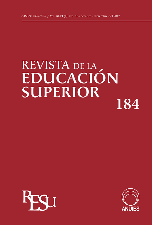 cover image revista de la educacin superior