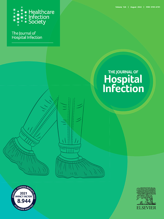 Cover image Journal of Hospital Infection