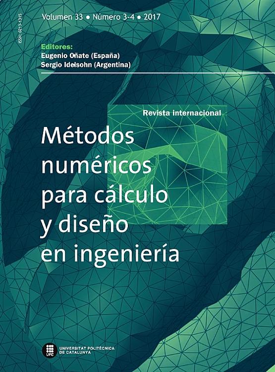 cover image revista de mtodos numricos para clculo y diseo en ingeniera