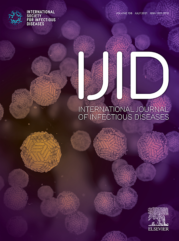 Cover image International Journal of Infectious Diseases