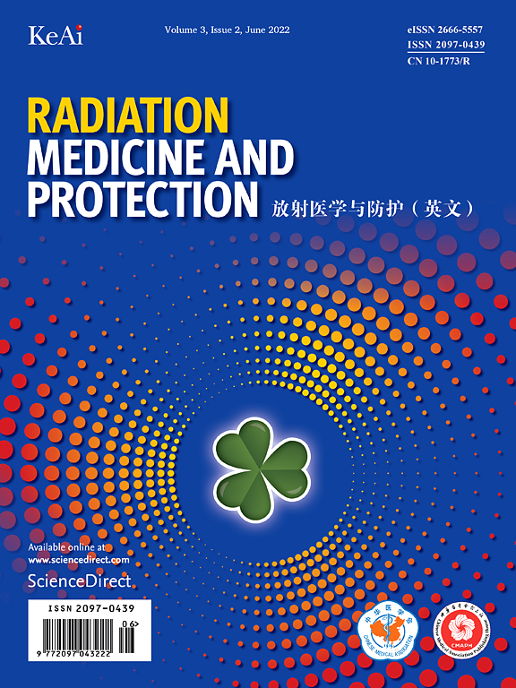 Cover image Radiation Medicine and Protection