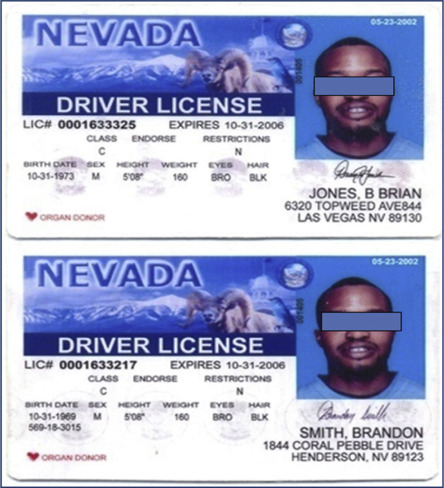 restriction b on drivers license nevada