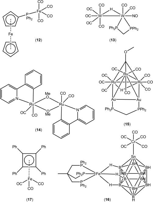 Supramolecular Self Assembly Of Transition Metal Carbonyl Molecules
