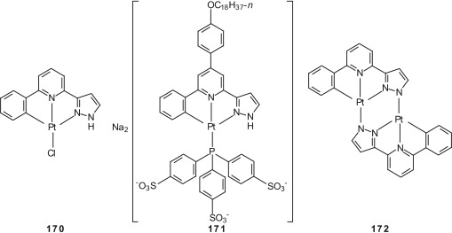 Organometallic Complexes of Pyridines Together with Diverse