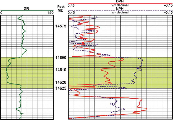 A Numerical Study of Epithermal Neutron Log Response and Application