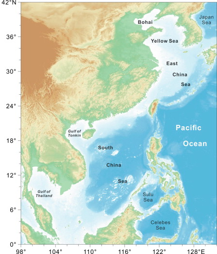 General outline of the china seas sciencedirect the china seas publicscrutiny Images