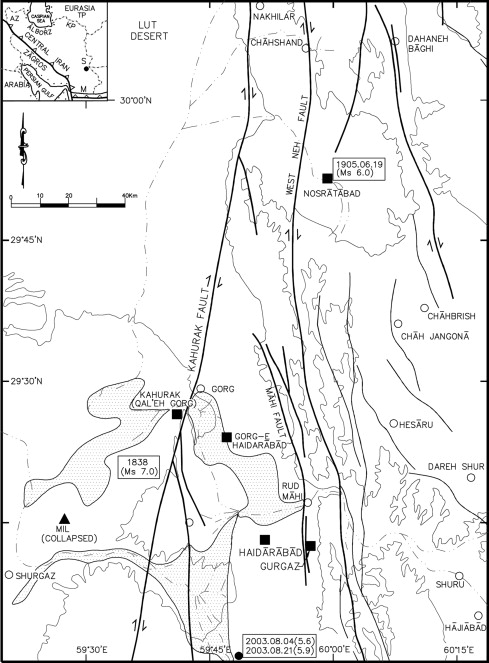 Pre 1900 Coseismic Surface Faulting