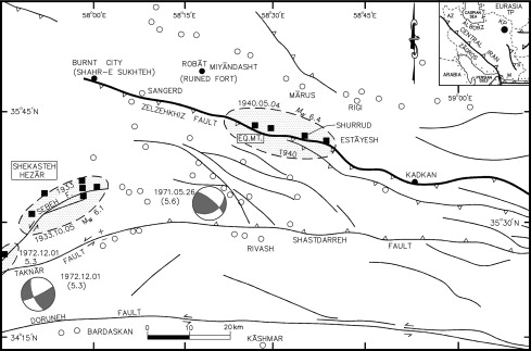 19001963 Coseismic Surface Faulting