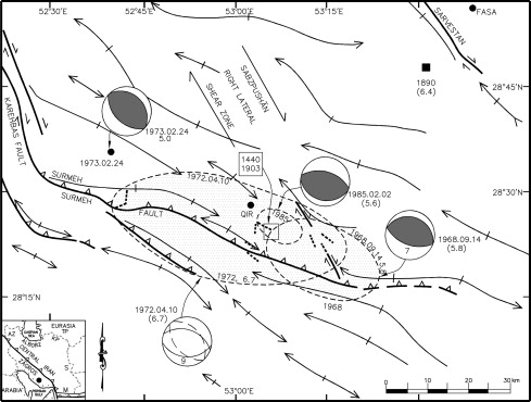 19641997 Coseismic Surface Faulting