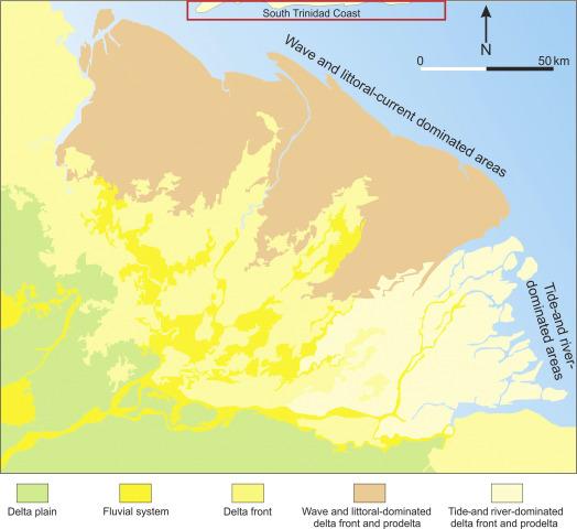 Palaeo Orinoco Pliocene Channels On The Tide Dominated Morne L