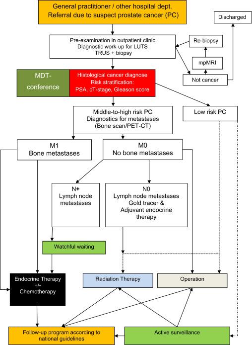 follow up carcinoma prostatico con firmagon