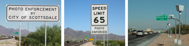 Evaluation of automated speed enforcement on Loop 101