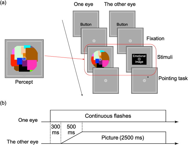Emotion biases voluntary vertical action only with visible cues