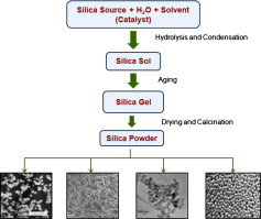 Sol-Gel processing of silica nanoparticles and their applications