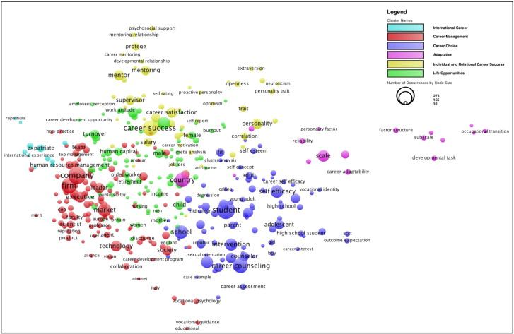 Local Map Of The Management Literature On Careers.