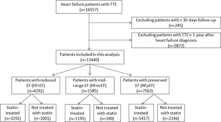 Comparison of Effects of Statin Use on Mortality in Patients