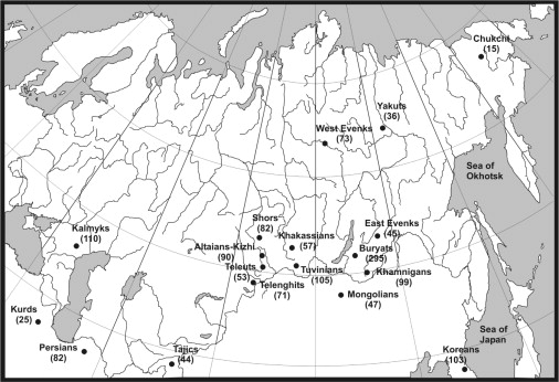 Phylogeographic Analysis of Mitochondrial DNA in Northern Asian