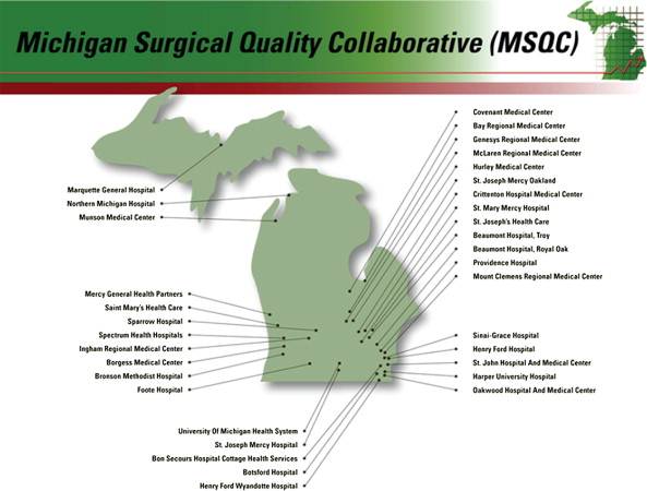 The Michigan Surgical Quality Collaborative: a legacy of