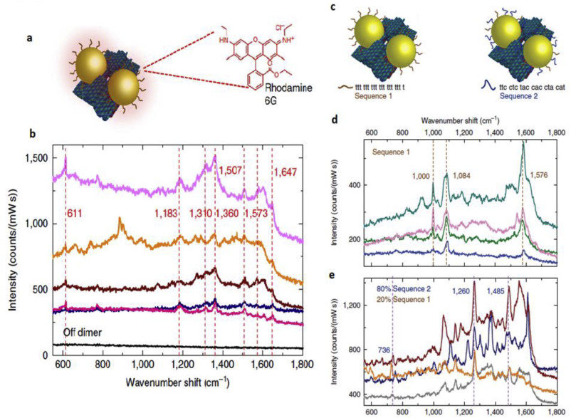 Plasmonic substrates for surface enhanced Raman scattering