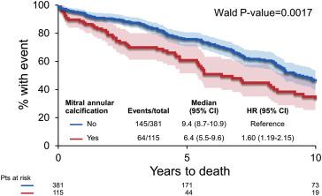 Does Mitral Valve Calcium in Patients Undergoing Mitral