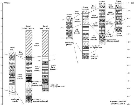 Implications paléontologiques et géodynamiques de la datation palynologique.