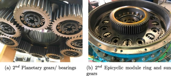 A study on helicopter main gearbox planetary bearing fault