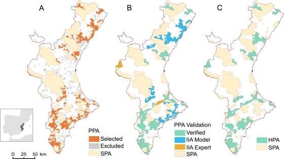Using risk prediction models and species sensitivity maps