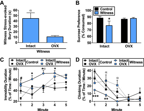 Essential Role of Ovarian Hormones in Susceptibility to the