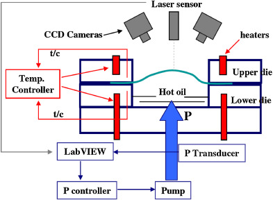 Closed loop control of product properties in metal forming hydraulic bulge test with on line sensing of strain strain rate temperature and fluid pressure 114 fandeluxe Choice Image