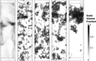Simulating Wet Gassolid Fluidized Beds Using Coarse Grid Cfd Dem