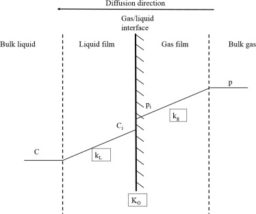 Beyond the standard two-film theory: Computational fluid dynamics